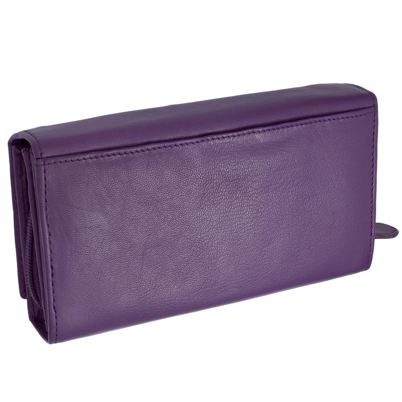 b0fa995c97d704 Cadenis Damen Portemonnaie aus Leder Individualisiert mit Ihrem persönlichen  Wunschtext als edle Laser-Gravur