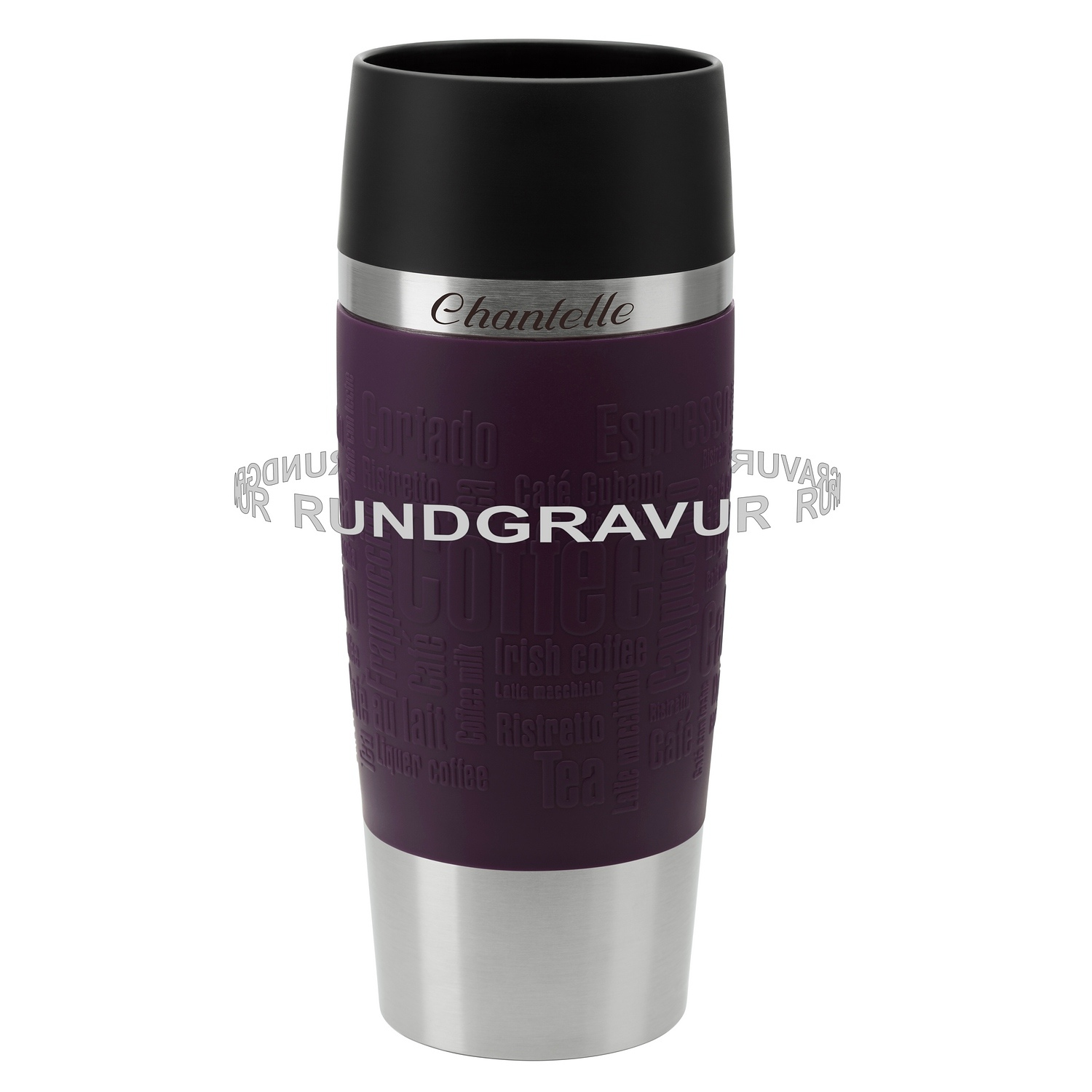 emsa thermobecher travel mug 0 36 l mit rund gravur. Black Bedroom Furniture Sets. Home Design Ideas